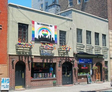 Stonewall Inn in Manhattan's Greenwich Village, 2012.